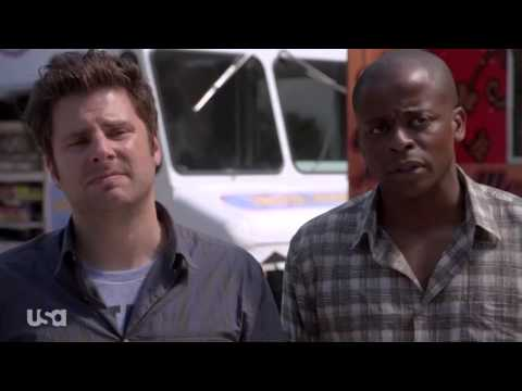"Psych, Season 8, Eps 7 - ""Shawn and Gus Truck Things Up,"" Macho Taco"