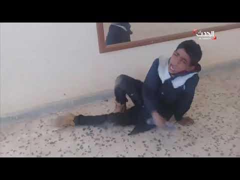 العرب اليوم - بالفيديو: لحظة اعتداء معلم على الطلاب بطريقة وحشية