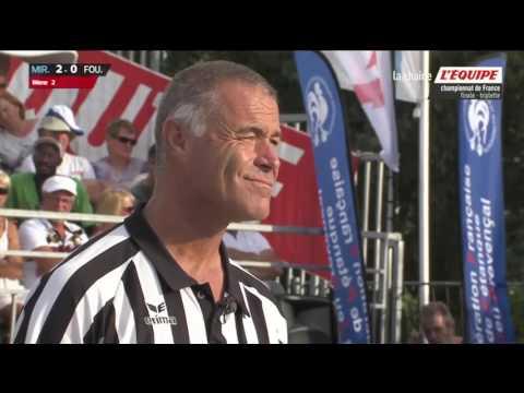 Championnat de France Petanque triplette 2016 finale