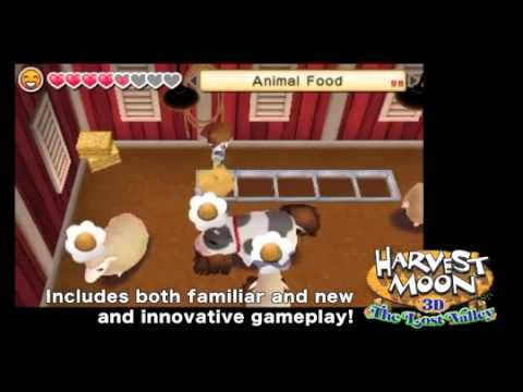 Harvest Moon 3D The Lost Valley (3DS)