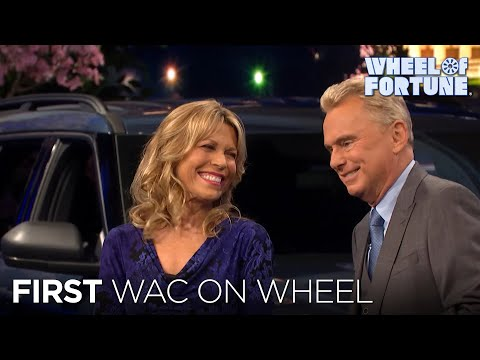First WAC on Wheel | Wheel of Fortune