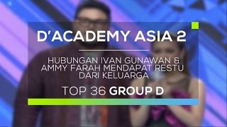 Video Hubungan Ivan Gunawan dan Ammy Fara Mendapat Restu dari Keluarga (D'Academy Asia 2) MP3, 3GP, MP4, WEBM, AVI, FLV Oktober 2018