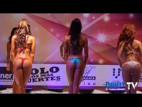 Edna Olivas gana Bikini Elite en Musclemania Latino 2013