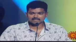 Video Vijay Emotional Speech Puli Audio Launch  (HD) download in MP3, 3GP, MP4, WEBM, AVI, FLV January 2017