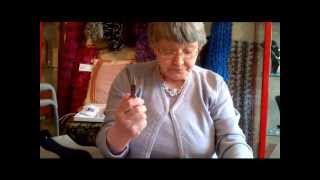 Sedbergh United Kingdom  city photo : Making earrings with Margaret Major at The Craftworkshop, Sedbergh, UK