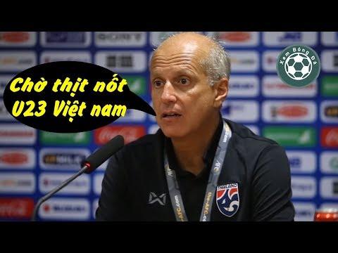 HLV U23 Thái Lan: Đá với U23 Indonesia như đá tập, chúng tôi chờ thịt U23 Việt Nam @ vcloz.com