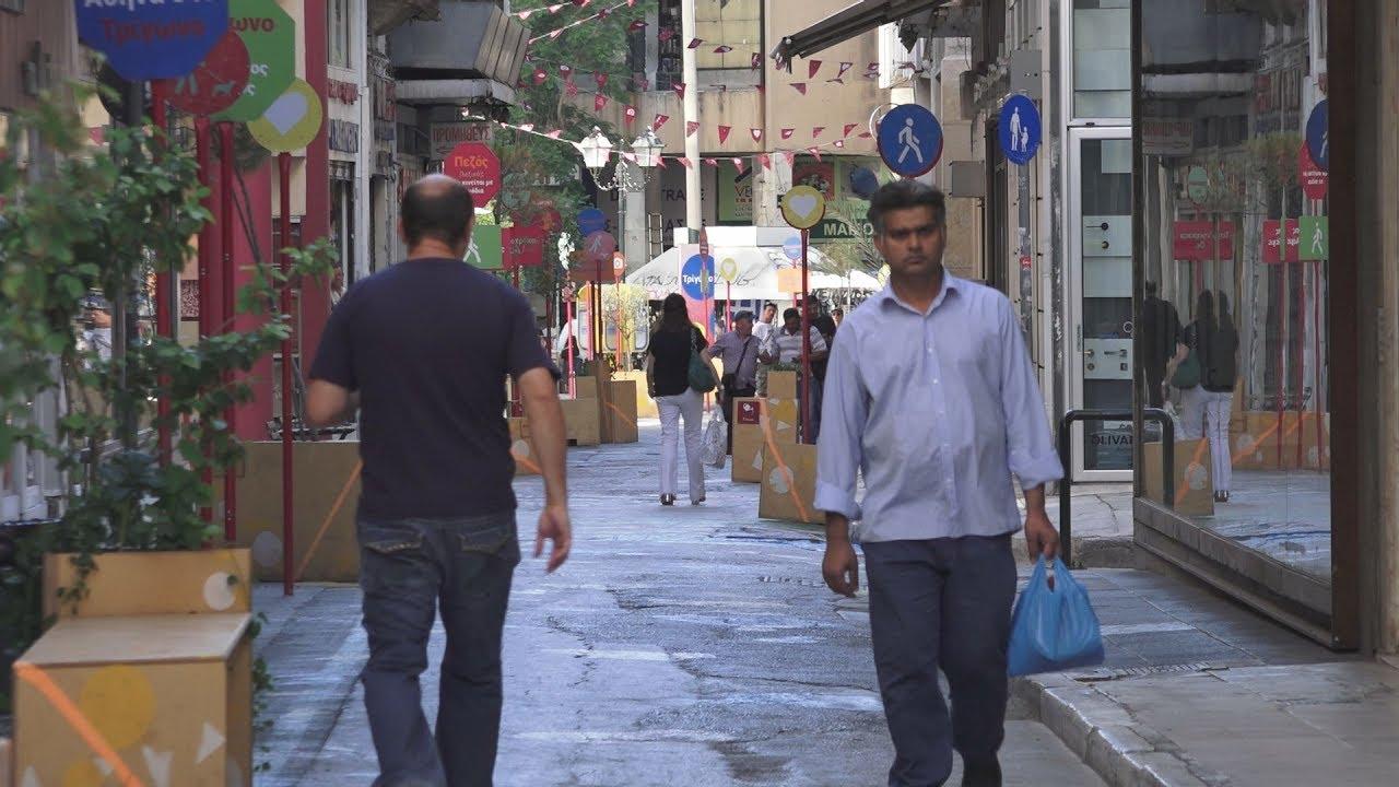 Oι  νέες πεζοδρομήσεις στο  κέντρο της Αθήνας