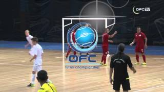 OFC TV Production - Copyright OFC TV © February 2016. New Zealand have beaten New Caleodnia 4-1 in the final match of the...