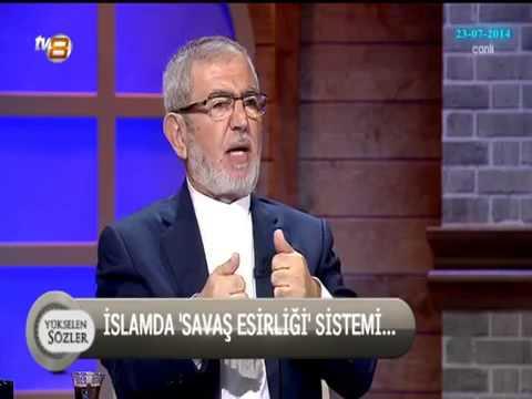 Ali Rıza DEMİRCAN - İslam'da Kölelik ve Cariyelik - Yükselen Sözler - TV8 - 23 TEMMUZ 2014