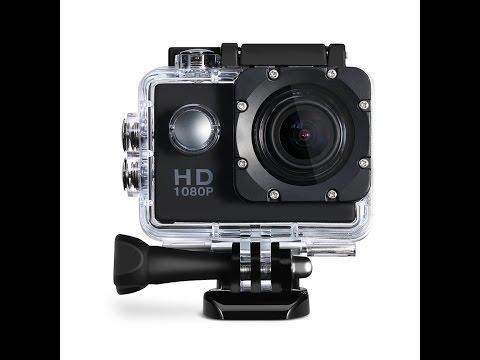 Viderecensione ITA Action Camera Sport, Macchina Fotografica d'azione da 12MP, Video Full HD