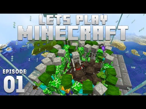 iJevin Plays Minecraft - Ep. 1:  INSANE MOB GRINDER! (1.16 Minecraft Let's Play)
