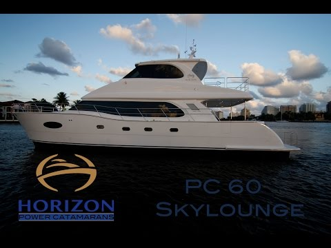 Horizon Yachts PC 60 - Power Catamaran - Performance and Panache
