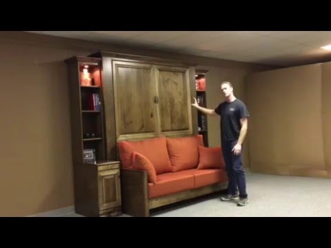 Jordan Murphy Bed with Sofa