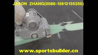 PU Sports Surface Material Product (ITF5) youtube video