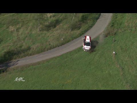 FIA ERC - 46 BARUM RALLY - Gryazin spectacular accident