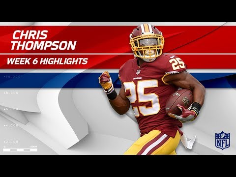 Video: Chris Thompson Tears Through San Fran for 138 Yards! | 49ers vs. Redskins | Wk 6 Player Highlights