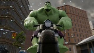 Disney Infinity 2.0 - Marvel Super Heroes - The Hulk (Level 20 Character Showcase) - YouTube