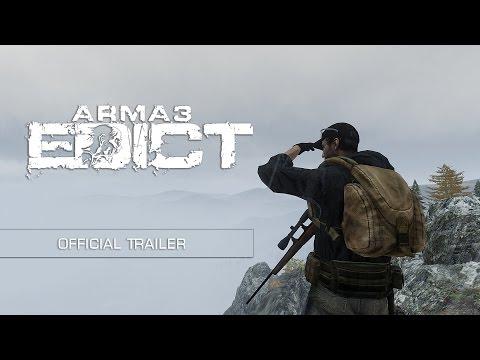 Arma 3: Edict Official Cinematic Trailer (видео)
