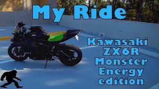 7. 2012 Kawasaki ZX6R - A basic review of my own bike