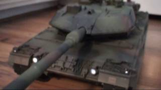 German LEOPARD 2A6 Battle Tank - TAMIYA 1:16 Scale RC Model