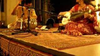 Sudeshna Bhattacharya (sarod) Anuvab Chatterjee (tabla)