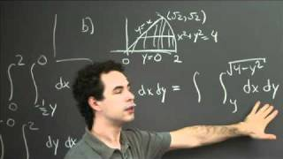 Regions Of Integration | MIT 18.02SC Multivariable Calculus, Fall 2010