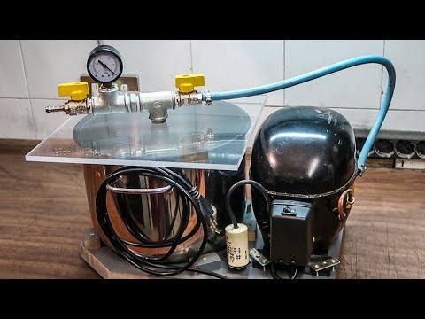 Download DIY Vacuum Pump And Chamber