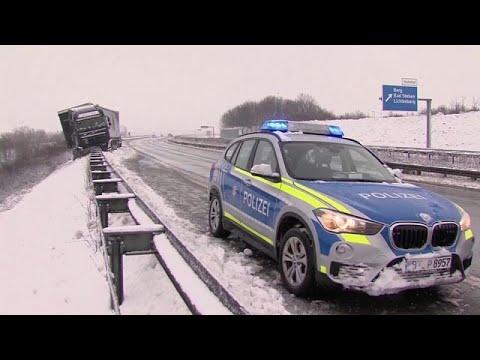 Η Ευρώπη στο έλεος του χιονιά – Σοβαρά προβλήματα σε Ελλάδα, Γερμανία και Αυστρία…