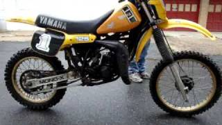 8. 1982 YAMAHA YZ125 YZ 125J - FOR SALE ON EBAY SEPTEMBER 2009