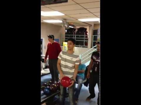 Irsalan bowling strike