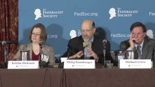 Click to play: The Administrative State: Within the Bounds of Law? - Event Audio/Video