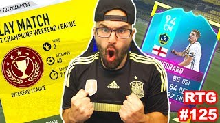 I out togehter another beast unradeable squad to run in this fifa 17 Ultimae team weekend league with SBC Gerrard ▻Second ...
