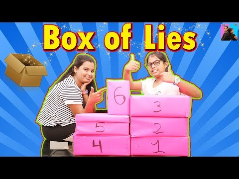 Box of Lies With Ayu and Anu | The Challenge | Family Fun Time