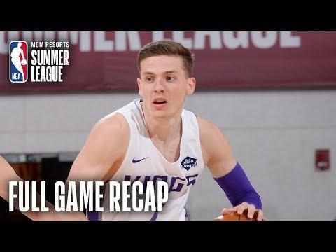 Video: CHINA vs KINGS   Kyle Guy Leads Sacramento   MGM Resorts NBA Summer League