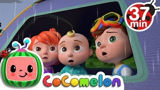 Video Rain Rain Go Away | +More Nursery Rhymes & Kids Songs - Cocomelon (ABCkidTV) MP3, 3GP, MP4, WEBM, AVI, FLV Desember 2018