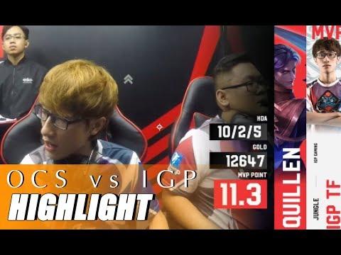 Highlight OCS vs IGP - TF HỦY DIỆT OVERCLOCKERS - ĐTDV mùa xuân 2019 - Thời lượng: 13 phút.