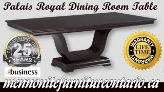 Mennonite Palais Royale Dining Room Table