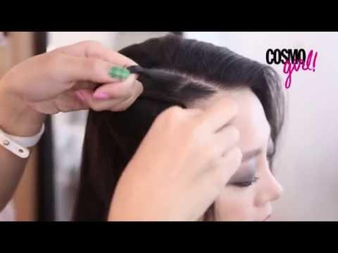 DIY鬢辮髮型教學