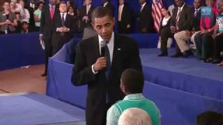 """Child Asks Obama:""""Why Do People Hate You?"""" - YouTube"""
