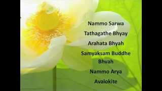 The Great Compassion Mantra in Sanskrit The Great Compassion Mantra The Vast, Great, Perfect, Full, Unimpeded Great ...