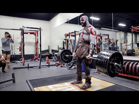 EPIC KRATOS GOD OF WAR WORKOUT! (видео)