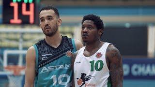 Hightlits of the match National league: «Astana»— «Barsy Atyrau» (Game 2)