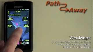 PathAway PRO - Outdoor GPS Nav YouTube video