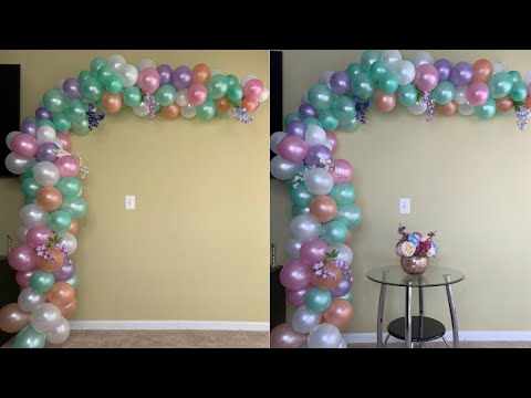 $5 Dollar Tree Balloon Arch