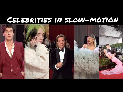 Grammy Awards - Shawn mendes, Priyanka, Ariana Grande, Brad pitt, Billie Eilish, Bts slow motion