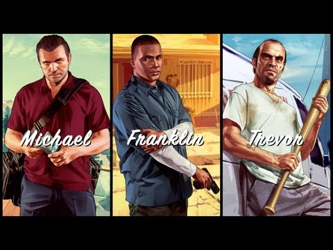 Watch The Three New Trailers For 'Grand Theft Auto V'