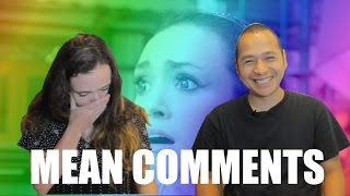 Video Sacha reads mean comments with her husband MP3, 3GP, MP4, WEBM, AVI, FLV Agustus 2018