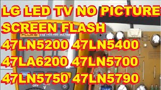 Find the correct TV part for your TV and more at ShopJimmy.com Click Here: http://bit.ly/ShopJimmy  Repair of a LG 47 inch TV with only a screen flash. Involves replacing individual LED's in the LCD panel. Shop Jimmy has these complete LED Strips Available.
