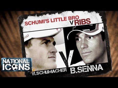 National Icons | THE OTHER GUYS: Ralf Schumacher vs Bruno Senna