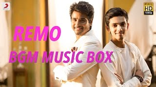Remo Movie Full BGM Audio - Anirudh Ravichander